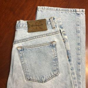 Calvin Klein - Vintage Mom Jeans - Light Wash